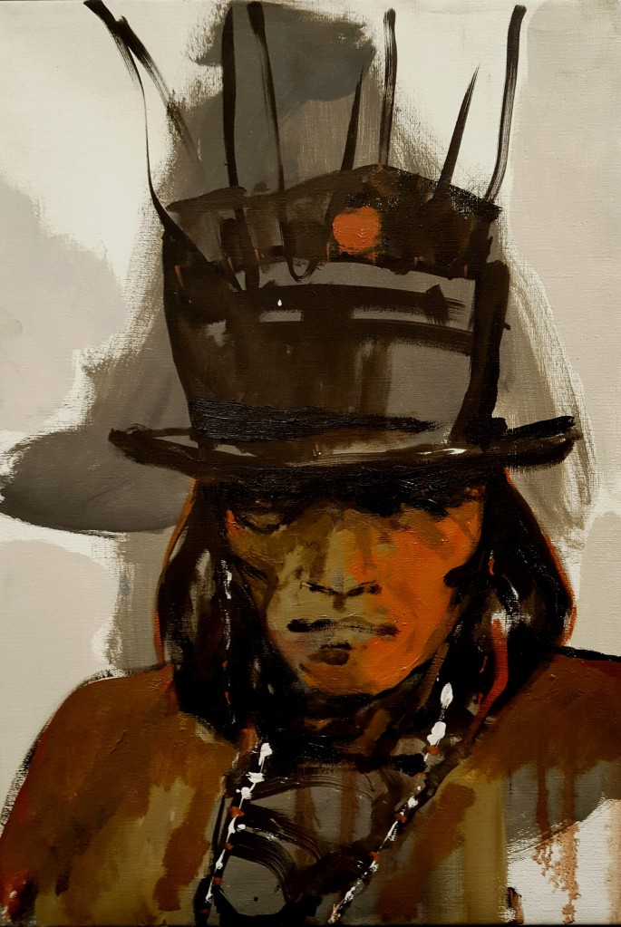 """"""" Angry Chief / Standing Rock 65x45"""